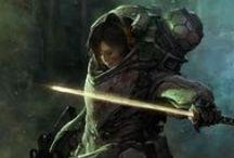 SCI-FI • Warrior