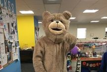 Halloween 2015 / We celebrated Halloween at The Blue Book Network! We had zombies, celebrities, construction workers, pop stars...and even Ted stopped by to say hello!