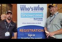 The Who's Who Showcase: Houston, TX / The Who's Who in Building & Construction Showcase was held at Minute Maid Park in Houston, TX on April 19th, 2016.
