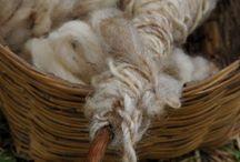 Wood, linen, cotton, wool