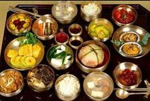 Korean food( han kook) / by Mi Yoo