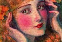 Modern art / Arte moderno, colorido, folclorico, impresionista