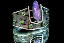 CUFFS and BRACELETS / Cuffs, bracelets, jewellery, jewelry, metal.