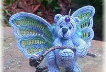crochet toys and stuffed animals / by Jeannie Wilburn
