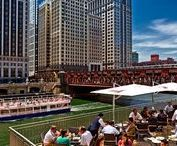 Chicago's Outdoor Dining Spots / The best places in Chicago to eat and drink with a view.