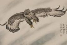 Chinese Eagle Paintings / Chinese Eagle Paintings from CNArtGallery.com.  http://www.cnartgallery.com/85-chinese-eagle-paintings