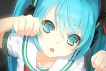 Hatsune Miku - anime and kawaii ♥♥♥ / Anime and kawaii pictures of hatsune miku and other anime