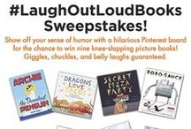#LaughOutLoudBooks Sweepstakes / Enter the #LaughOutLoudBooks sweepstakes for the chance to win nine knee-slapping picture books! Official rules: http://bit.ly/LaughOutLoudBooksPinterestRules