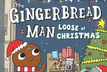 #GingerbreadManLooseAtChristmas Sweepstakes! / Make a Pinterest board devoted to all things gingerbread for the chance to win a selection of cookie-themed books!