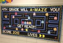 Bulletin Board Ideas / Let your creativity run free with these visually amusing and entertaining bulletin boards!  Which one will inspire YOUR bulletin board?
