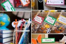 Back to School / Find all kinds of party ideas, crafty classroom projects, ideas for quick meals on the go, after school snack ideas, and much, much more!