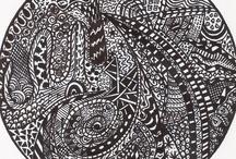 Zentangles & Doodles / by Sheila Lundquist