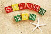 Summertime! / Break out the sandals and sun glasses! There are lots of fun things to try this summer.