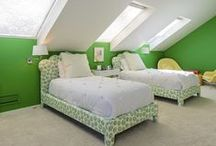 Kids Rooms! / The best designed kids rooms, from bold prints and colors to great reading nooks.