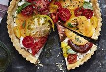 Savoury Pies / Savoury pies that sometimes have a crust but always have a delicious taste! Quiches, tarts, tourtieres and more! Vegetarian options included.