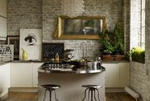 Industrial chic in the kitchen / Whether you have a loft apartment or classic house, the industrial look can be adapted to suit most schemes.
