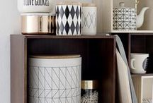 Geometric pattern / Put a modernist slant on surfaces and accessories
