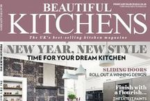 Beautiful Kitchens February/March issue / Discover the beauty of a bespoke scheme, where to buy gorgeous tiles and buyer's guides to fridges, laundry, appliances and sinks
