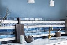 Stylish kitchen tiles / Plain, patterned, shaped and textured, tiles are an easy way to add character to your kitchen scheme