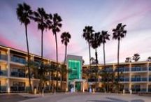 Classic California Style / The Marina del Rey Hotel invites guests to unwind and indulge in equal balance. Recently renovated, we offer new guest room amenities, free Wi-Fi, 24-hour room service, and beautiful hotel rooms that overlook the marina.