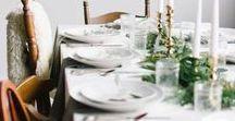 Ma Table au Sommet / Ma table au sommet (de mes rêves) de noël sera conviviale, nature et lumineuse