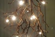 Light / Out of the ordinary illumination for the elegantly rustic lifestyle. / by Jennifer Martin