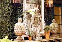 Outdoor / Making relaxed but elegant outdoor spaces. / by Jennifer Martin