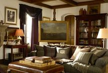 Living Room / Rustic but elegant design ideas for relaxed living. / by Jennifer Martin