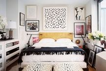 bedrooms / by Jane Gallant @ modern jane