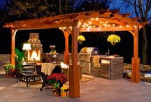 Backyard ideas / by Christina Ward