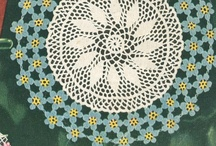 Vintage Crochet For the Home  / Vintage doily, potholder, placemat and other home accessory patterns to crochet for your home.  / by Rita Holcomb