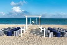Nautical Beach Wedding / Cancun, anyone? / by Erin Fitzpatrick Dwyer