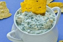 let's party / party food and appetizers that feed a crowd. healthy appetizers and party recipes