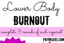 PBF Workout Routines / by Randee Pollock