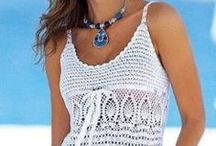Crochet-Vests/Tops/Dresses/Skirts / by Lisa Conran