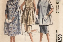 Vintage Maternity Patterns / by Rita Holcomb