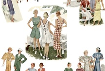 Fashions from the Thirties / by Rita Holcomb