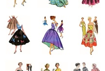 Fashions from the Fifties / by Rita Holcomb
