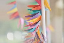 Mobile, Garland, Lantern, Bunting... / by Joanna H...