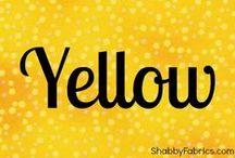 Colors - YELLOW Brick Road