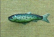 I love FISHES / All sort of fish crafts  I am pisces !