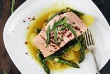 Fish Recipes - Healthy & delightful. / Simple fish dishes like these are a delicious source of omega-3 fatty acids and proteins. Healthy & delightful.