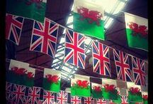 proud to be British & Welsh! / by electra carter