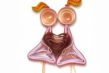 Quilling,papercrafts
