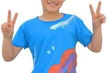 T-Shirt MapT - Bambini / Non è mai troppo presto per vestire MapT! Tanti modelli coloratissimi per bimbo e bimba, t-shirt dipinte a mano, felpe, canottiere estive. Acquistabili online su : http://bit.ly/MapTBambini