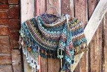 Crochet Crazy - Shawls, scarves, stoles and other
