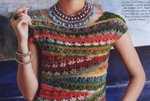 Crochet Crazy - Tops, tunics, pullovers and other...