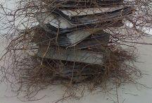 Bibliotecas, libros, textos / El arte hace sus cosas