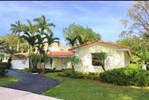 6009 San Vicente Street-SOLD / 6009 San Vicente Street, Coral Gables, FL 33146 $1,096,000 Fabulous updated 4/3. 3,300+ adj.sq.ft.per appraisal on a 10,500 ft corner lot. Large LR has views of the back yard and sparkling blue pool. 2 bdrms/bath off the LR in front of house. Large master suite is separate in back, next to the pool. New master suite is part of addition with Family rm, covered porch with master & covered terrace above. Kitchen has oak cabinets, a breakfast area, & easy access to the pool & spa, + family room.
