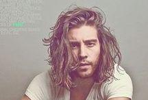 hair + pretty men